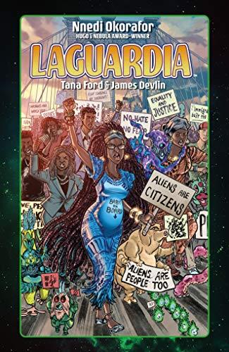 book cover: LaGuardia by Nnedi Okorafor