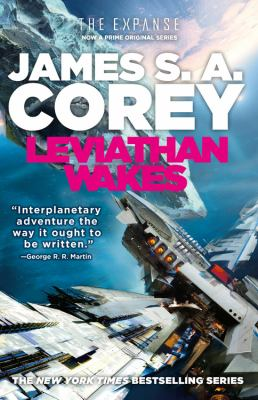 book cover: The Leviathan (bk 1 in The Expanse series) by James S.A. Corey
