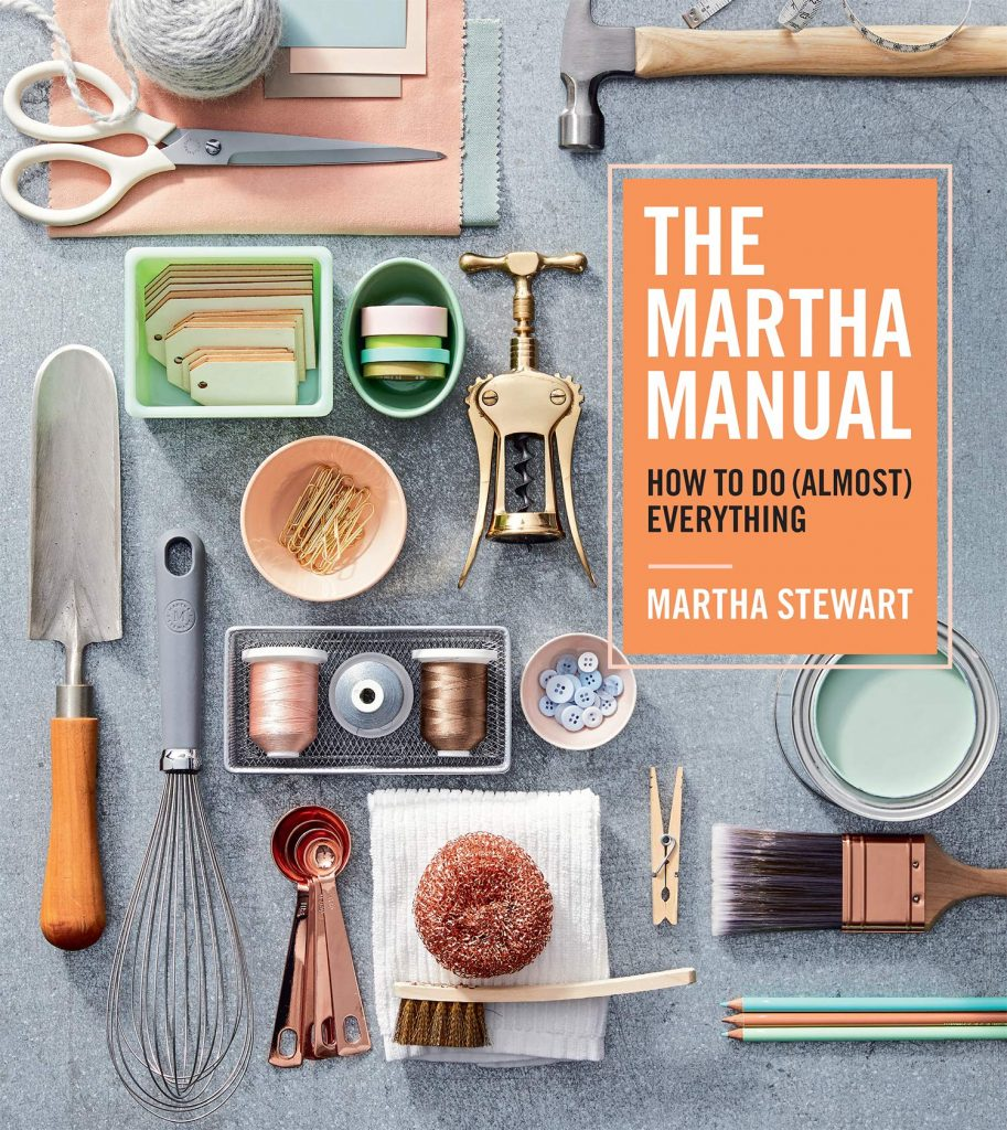 book cover: The Martha Manual by Martha Stewart