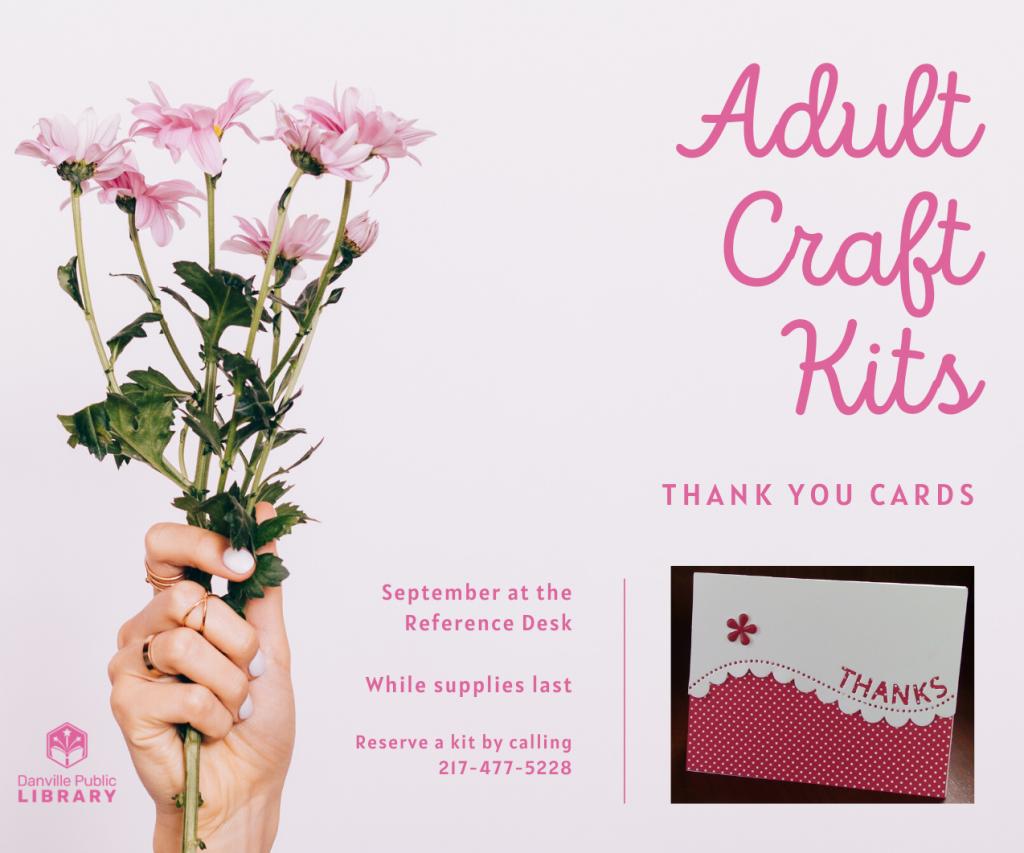 adult craft kits 9/20