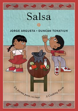 book cover: Salsa by Jorge Argueta and Duncan Tomatium