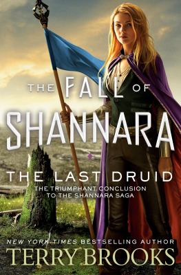 book cover: The Last Druid by Terry Brooks