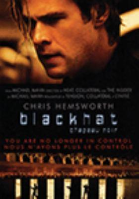 dvd cover: Blackhat