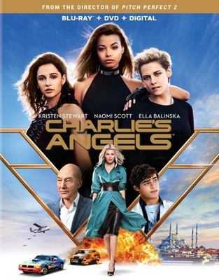 dvd cover: Charlie's Angels