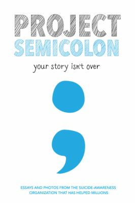 book cover: Project Semicolon with Amy Bleuel