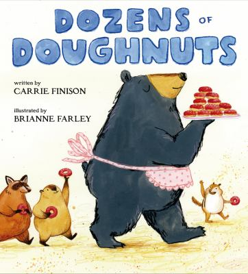book cover: Dozens of Doughnuts by Carrie Finson
