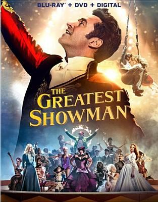 dvd cover: The Greatest Showman