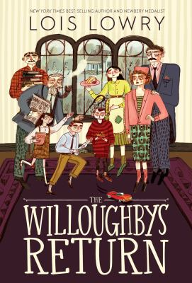 book cover: THe Willougbys Return by Lois Lowry