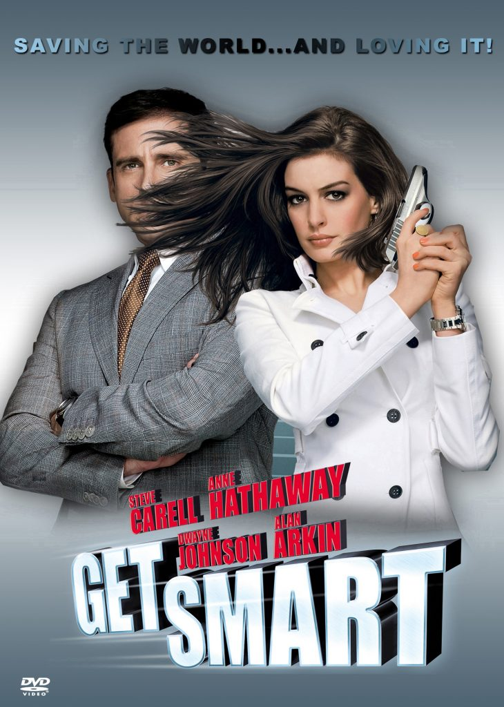 dvd cover: Get Smart (2008)