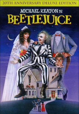 dvd cover: Beetlejuice