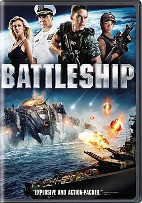 dvd cover: Battleship