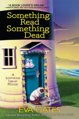 book cover: Something Read, Something Dead by Eva Gates