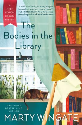 book cover: The Bodies in the Library by Marty Wingate