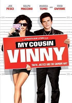DVD cover: My Cousin Vinny (1992)