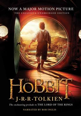 audiobook cover: The Hobbit by JRR Tolkien