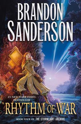 book cover: Rhythm of War by Brandon Sanderson