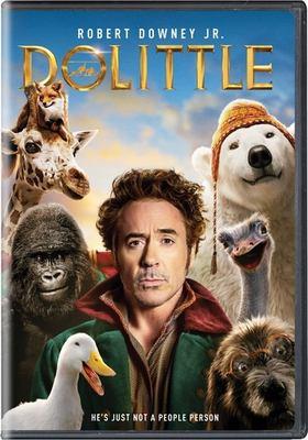 dvd cover: Dolittle (2020)
